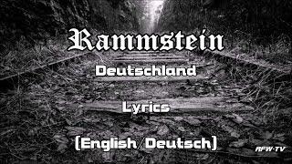 Rammstein   Deutschland (Lyrics[EnglishDeutsch])