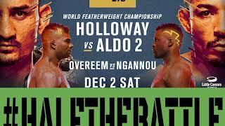 UFC 218: Holloway vs Aldo 2 Bets, Picks, Predictions on Half The Battle