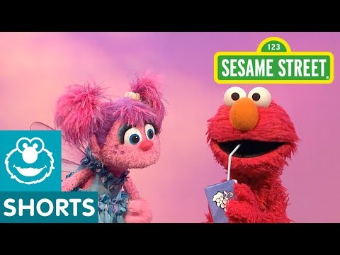 Sesame Street: Abby and Elmo Figure Out What a Straw Can Do