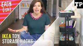 5 easy IKEA toy storage hacks | Easy(ish) S01E01