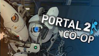 Portal 2 ,c  другом , фан стрим  №2