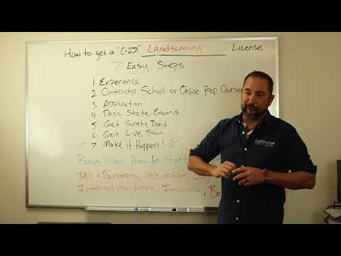 , title : 'How to get a Landscaping Contractor License (C27)