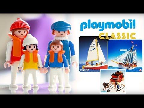 PLAYMOBIL Segelboot, Playmobil Marine Schoner und Western Kutsche - Playmobil Film deutsch Kinder