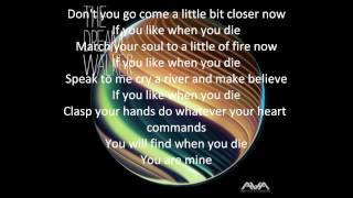 Angels & Airwaves- Tunnels (with Lyrics)