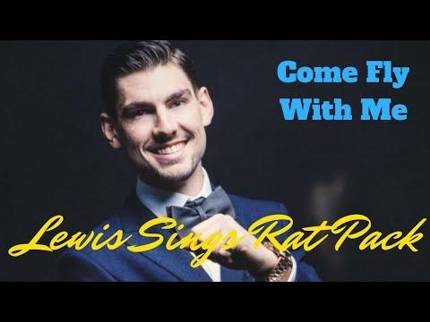Lewis Sings Rat Pack Video