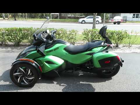 2013 Can-Am Spyder® RS-S SE5 in Sanford, Florida - Video 1