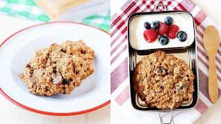 Healthy Oatmeal Breakfast Cookies | Gluten-Free, Egg-Free, Vegan|