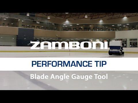 Zamboni Blade Angle Guage Tool