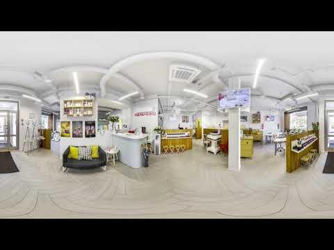 3D обзор маникюрного салона ПАЛЬЧИКИ на Маяковской