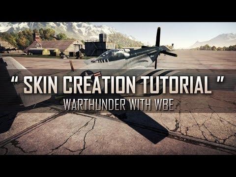 """"""" How to make User Skins! """" - War Thunder [Custom Skin Tutorial]"""
