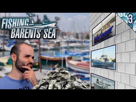 TRABAJO Y BANCO PARA COMPRAR UN BARCO | Fishing: Barents Sea | Gameplay Español