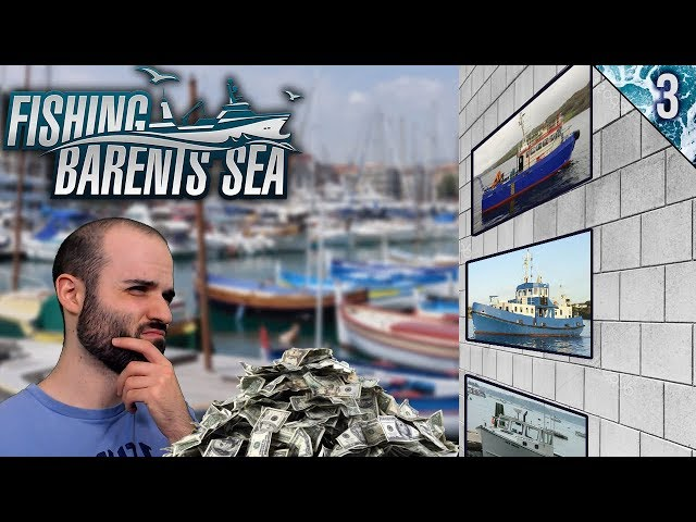 TRABAJO Y BANCO PARA COMPRAR UN BARCO | Fishing: Barents Sea | Gameplay Español