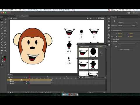Super Easy Lip Sync Animation Tutorial (Adobe Animate 2018)