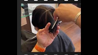 "💯 SALON "" Live"" Video: Asymmetrical Pixie"