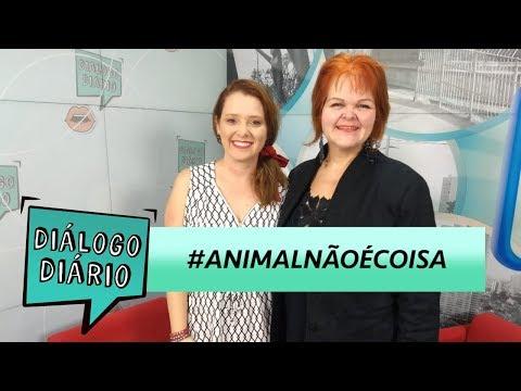 Diálogo Diário fala sobre #AnimalNãoéCoisa