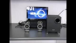 Creative SBS A250 Sound test