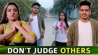 DON'T JUDGE OTHERS WHEN U ARE NOT PERFECT    Sunny Kaushal, Rukshar Dhillon    Rachit Rojha