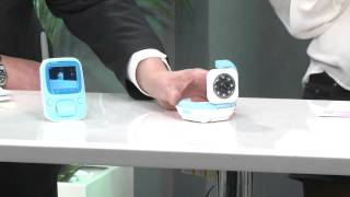 "Freetec Video-Babyphone VBP-180, 1,8"" Color & Nachtsicht"