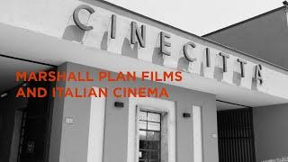 Marshall Plan and Italian Cinema