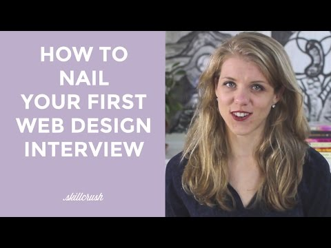 How To Nail Your Very First Web Design Interview