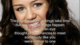 Miley Cyrus - one in a million (Lyrics)