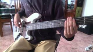 D'Angelo- The Charade (bass cover)