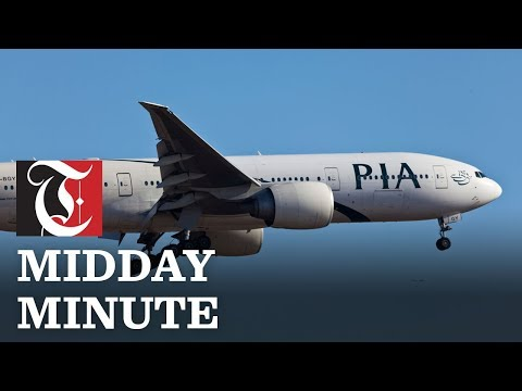 Midday Minute: More flights to Pakistan