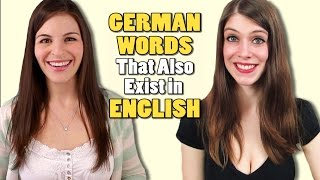 GERMAN WORDS That Also Exist in ENGLISH - feat. Dana (WantedAdventure)
