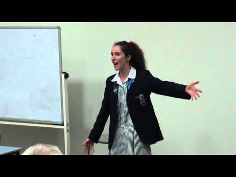 AIDPSC 2014 Australian Persuasive Speaking Champion