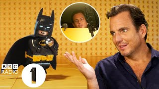 """""""Nobody beatboxes for me!"""" Will Arnett on his *ICONIC* Lego Batman voice and gatecrashing interviews"""