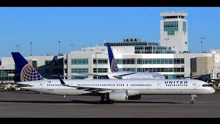 Departing DEN UA #268 757-324 N75853 DEN-SFO 31 Dec 16