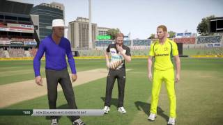 Don Bradman Cricket 17 - My First Game! Aus vs NZ