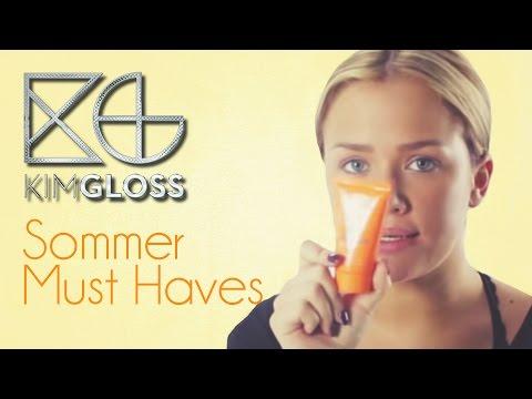 Sommer Must Haves I Kim Gloss