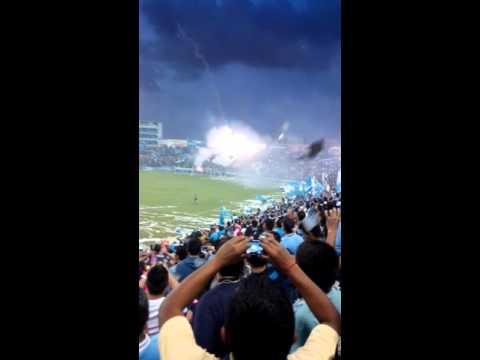 """""""Recibimiento jaiba brava vs cancun"""" Barra: La Terrorizer • Club: Tampico Madero"""