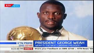 Former AC Milan striker George Weah wins presidential elections in Liberia
