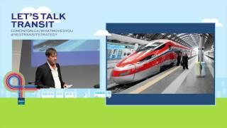 Great Ideas. Great City. Let's Talk Transit.