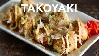How To Make Takoyaki (Recipe) たこ焼きの作り方(レシピ)