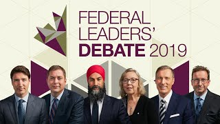 French Federal Leaders Debate 2019 (English translation): Full video