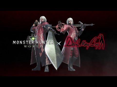 《魔物獵人:世界》X《惡魔獵人》合作介紹影片
