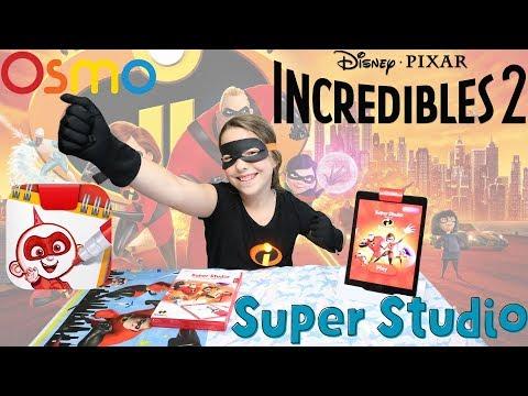 OSMO Incredibles 2 Super Studio - Incredibles Come to life