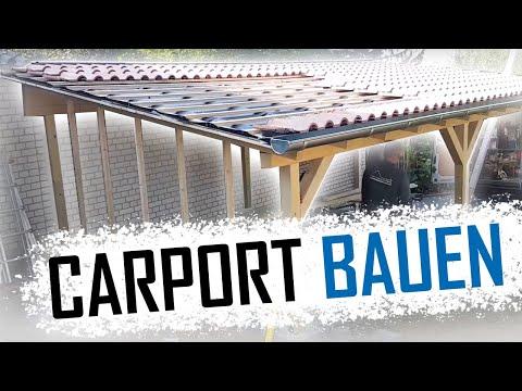 Dachdecker / Wie baut man ein Carport?