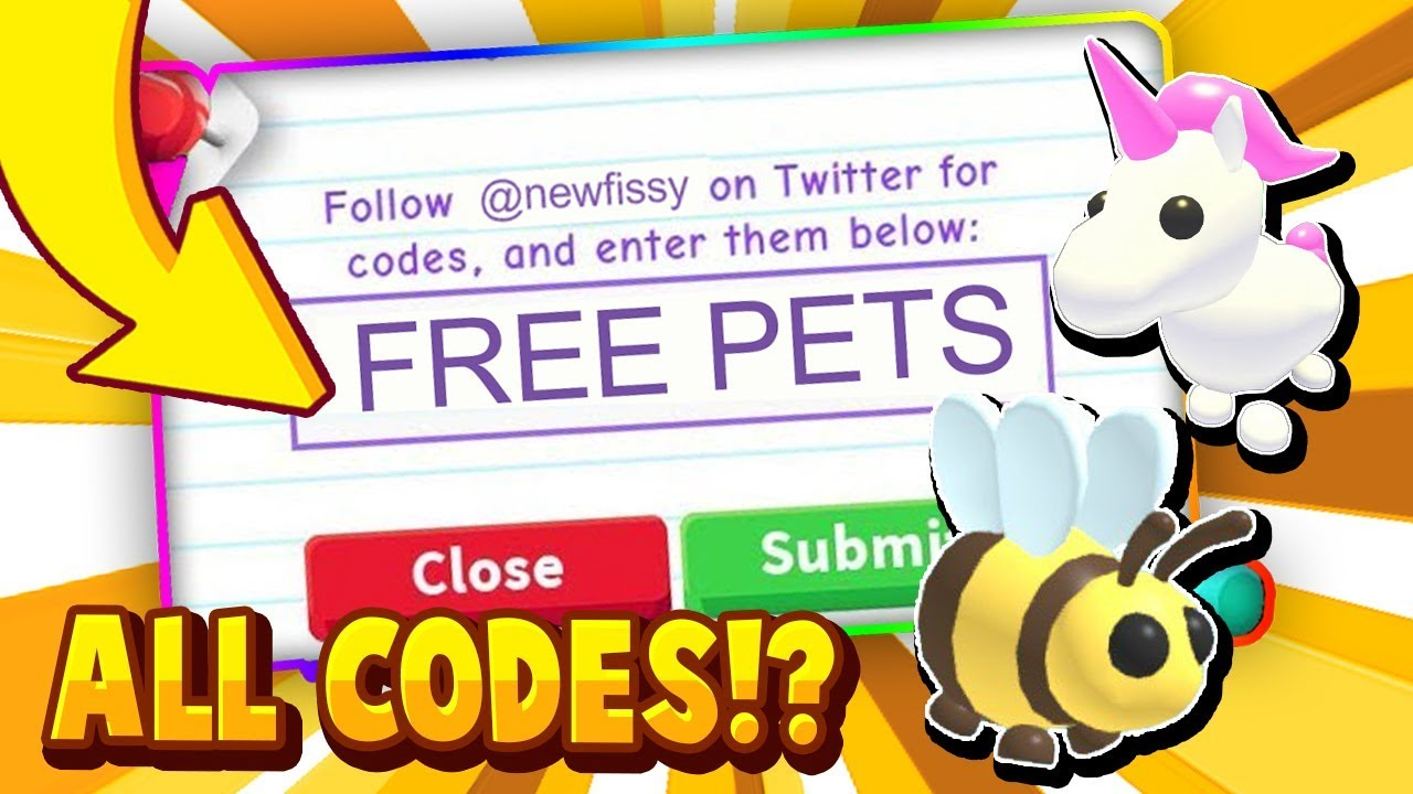 ALL ADOPT ME CODES! (HALLOWEEN) 2020 IN ROBLOX! - Trying ...