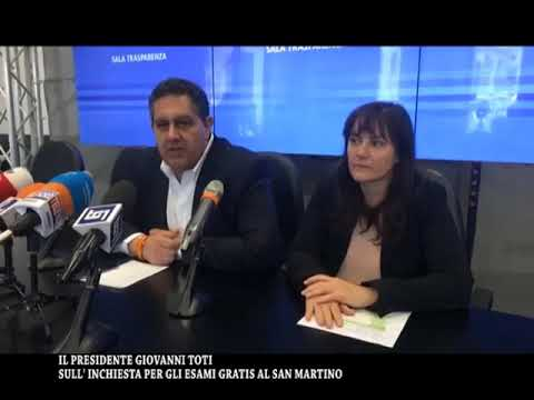 MICROFONO APERTO : INCHIESTA OSPEDALE SAN MARTINO
