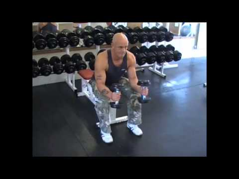 Seated Neutral Dumbell Wrist Curl