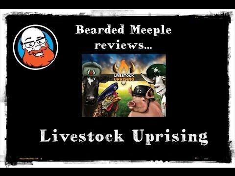 Bearded Meeple reviews Livestock Uprising