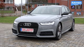 2016 Audi A6 3.0 TDI Competition (346hp) - DRIVE & SOUND (60FPS)
