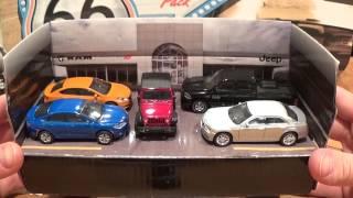 Greenlight Chrysler Dodge Jeep Dealership 5 Pack