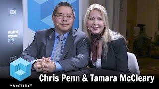 Chris Penn, SHIFT & Tamara McCleary, Thulium.co - World of Watson 2016 - #ibmwow - #theCUBE