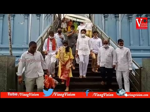 రాష్ట్ర్రంలో మతకలహాలు సృష్టించేందుకు కుట్ర జరుగుతోంది MP మోపిదేవి వెంకటరమణ in Visakhapatnam,Vizagvision