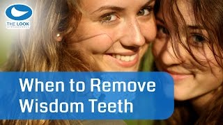 When's the best time to remove wisdom teeth?